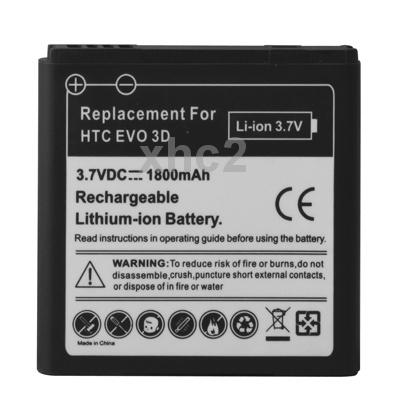 1800mAh Mobile Phone Battery for HTC EVO 3D / Sensation XL / G14 / X515m / G17 Sensation XE Z715e / G18(China (Mainland))