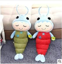 Free shipping Lovely prawns pillow Children's holiday gift doll plush