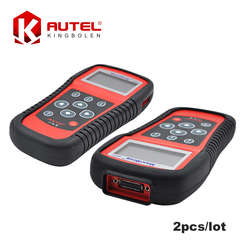 [2pcs/lot] 2016 Original Autel MaxiDiag PRO MD801 auto scanner 4 in 1 code reader md-801(JP701+EU702+US703+FR704)DHL Free(China (Mainland))