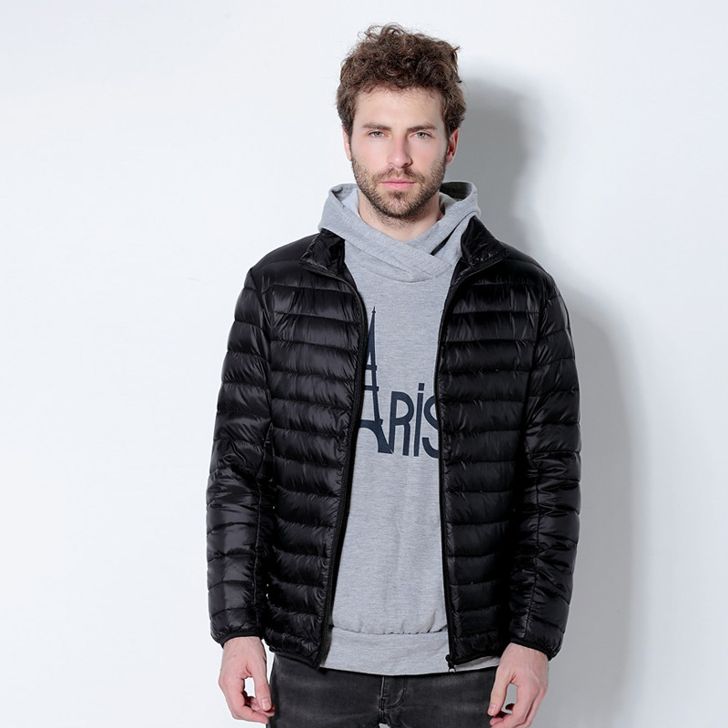 Fashion Cool Man Down Jacket Outwear Down Coat Warm Man Outwear Winter Clothes Plus Size Down