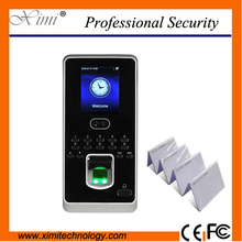 Biometrische türschloss gerät gesicht und fingerprint zutrittskontrolle mit 125 KHz TCP/IP 2,8-zoll farbdisplay zeiterfassung fucntion(China (Mainland))
