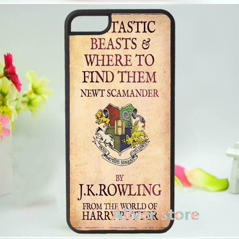 Fantastic Beasts and Where to Find Them mobile phone case cover for iphone 4 4s 5 5s 5c SE 6 6s & 6 plus 6s plus E1902(China (Mainland))