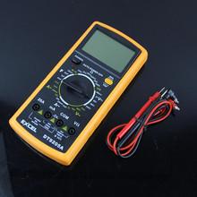 L155 envío gratis Digital amperímetro del voltímetro del metro de prueba multímetro nueva
