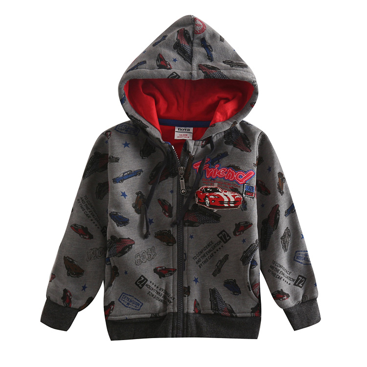 FREESHIPPING A3442# 5 pieces/lot 2013 new fashion hot selling NOVA kids sportwear autumn-winter baby boys hoodies with hood<br><br>Aliexpress