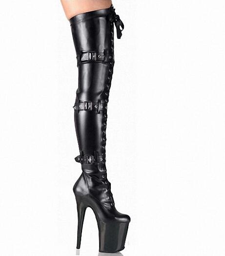 Popular Thigh High Flat Boots Size 11-Buy Cheap Thigh High Flat ...
