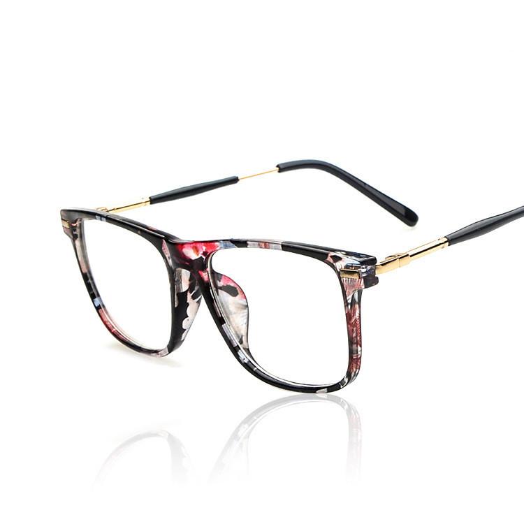 2016 Brand Design vintage Grade Spectacle Frame Eyeglasses Frames Women Lady metal temples Computer Eye Glasses Oculos de grau(China (Mainland))