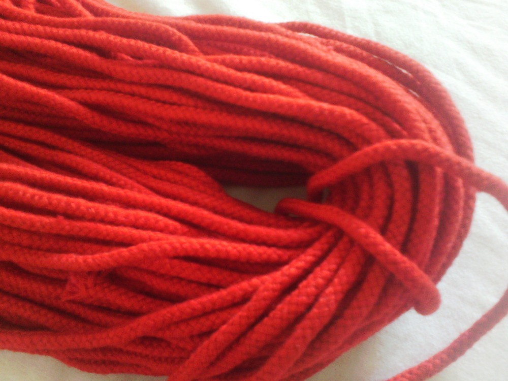 Color Cotton Rope Color 5mm Cotton Rope