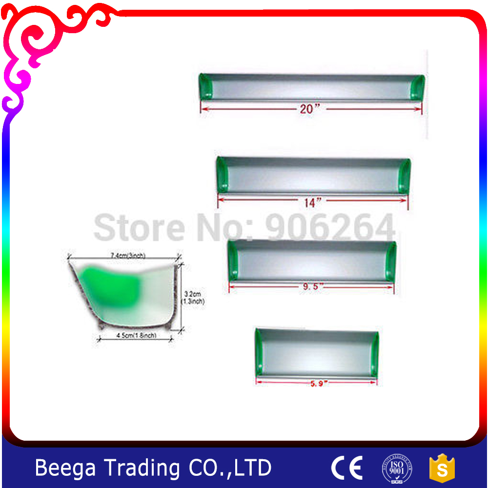 Free Shipping Cost Fee15cm/24cm/35cm/50cm Four Pieces Emulsion Scoop Coater Screen Printing(China (Mainland))