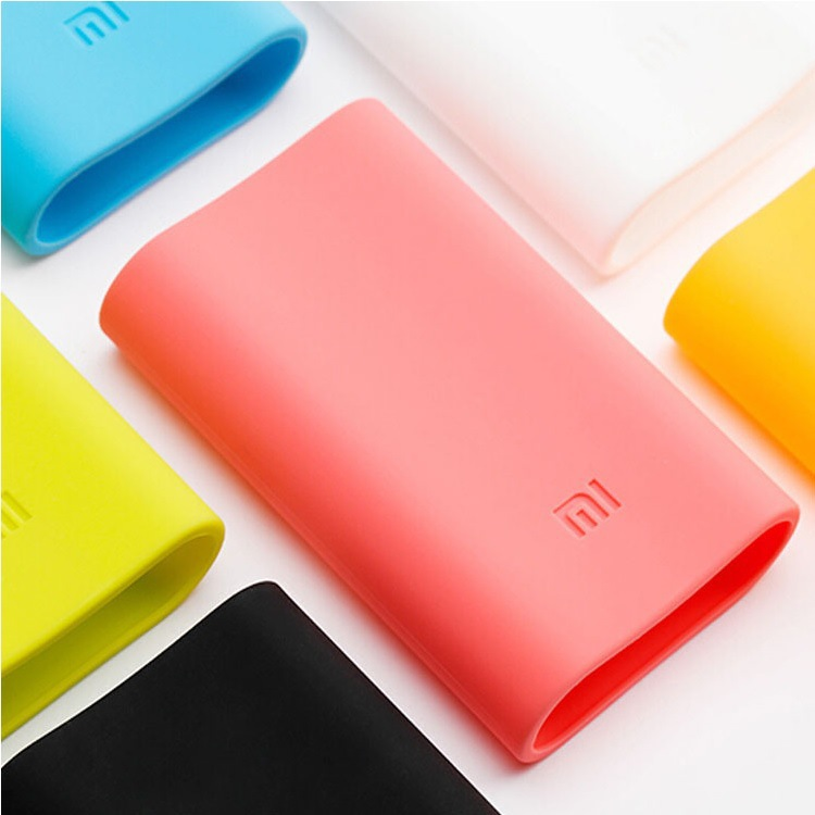 5000mAh Millet Mobile Power External Silicone Sleeve Rechargeable Lithium-ion Battery Xiaomi Power Bank Silicone Case