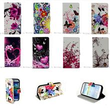 Buy Luxury Flower Pattern Leather Wallet Flip Cover Case LG L5II L7II L70 L90 G2 G3 Mini G3S G3 Stylus Spirit Grand Prime Shell for $3.12 in AliExpress store