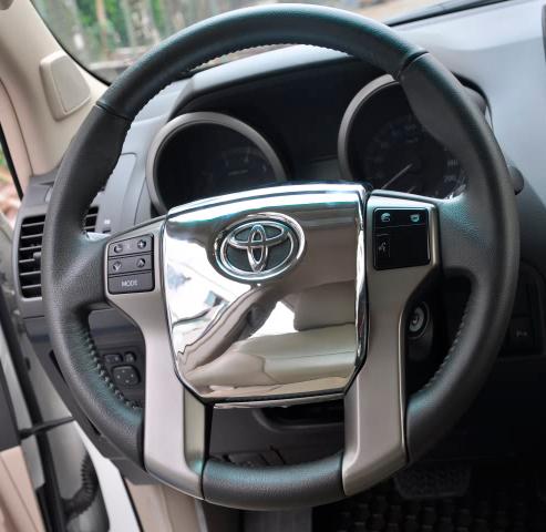 Buy Chrome 3d Interior Panels Steering Wheel Cover For Toyota Land Cruiser