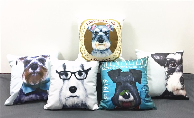 Schnauzer Cushion Heaven