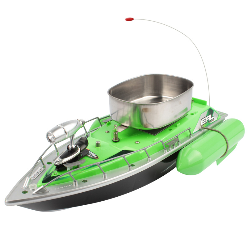 Фотография Goture Fishing Boat 200M Green And Red Remote Boat Mini RC Bait Boat