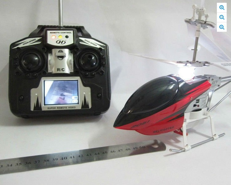 Remote Control Helicopter With Video Camera RC Helicopter with Cam...