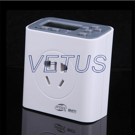 GM71 Multi-function EP Timer with 220V 10A Three-pin Plug<br><br>Aliexpress