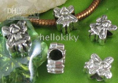 600PCS Tibetan Silver Fairy Bead fit Charm M8316<br><br>Aliexpress