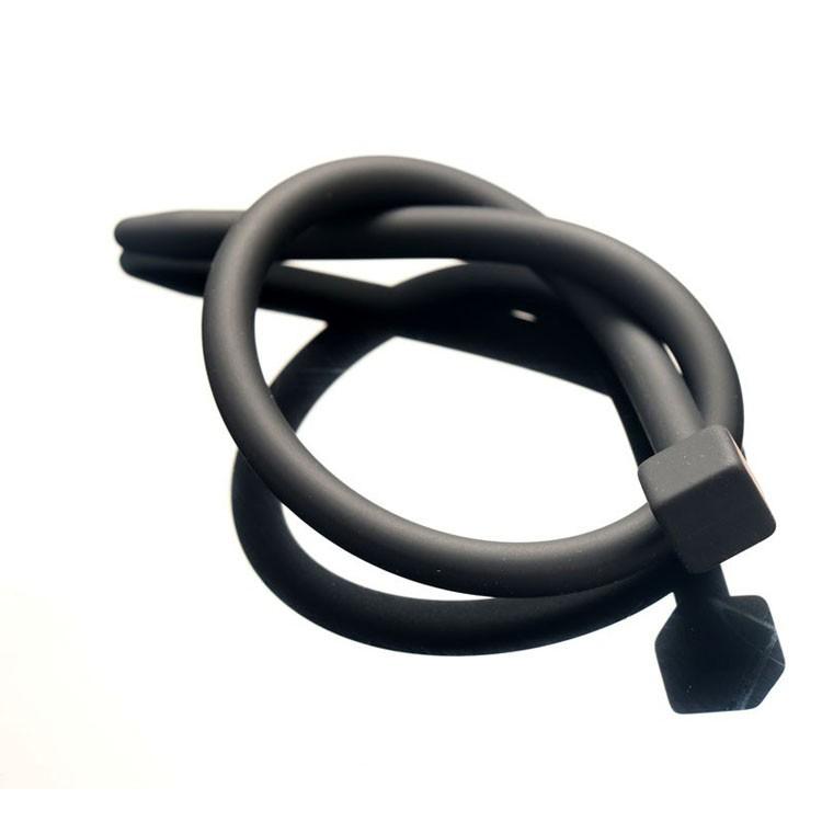 Супер долго силиконовая пениса зажигания мужской целомудрие устройства расширители мягкий уретры звук катетер секс игрушки для мужчин