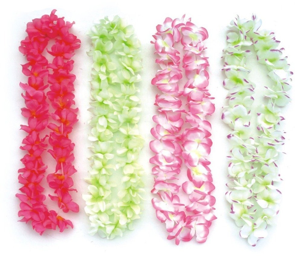 2016 BOSHENG Party& Festive Supplies Hawaiian Flower Lei Garland/Hawaii Cheerleading Products Hawaii Necklace(China (Mainland))
