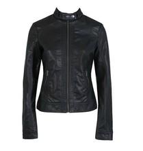 NEW FASHION subsection single Pimkie washed PU leather motorcycle jacket Slim female short paragraph large side leather(China (Mainland))