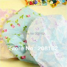 Waterproof Shower Cap Flower Printing Lace Elastic Shampoo Shower Cap Hair Hat Bathing Cap (Mini Order 10 USD)(China (Mainland))