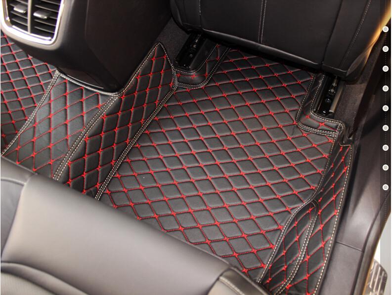 Купить Самое лучшее качество! специальные коврики для Mercedes Benz ML 350 W166 2016-2012 водонепроницаемый ковры для ML350 2013, Бесплатная доставка