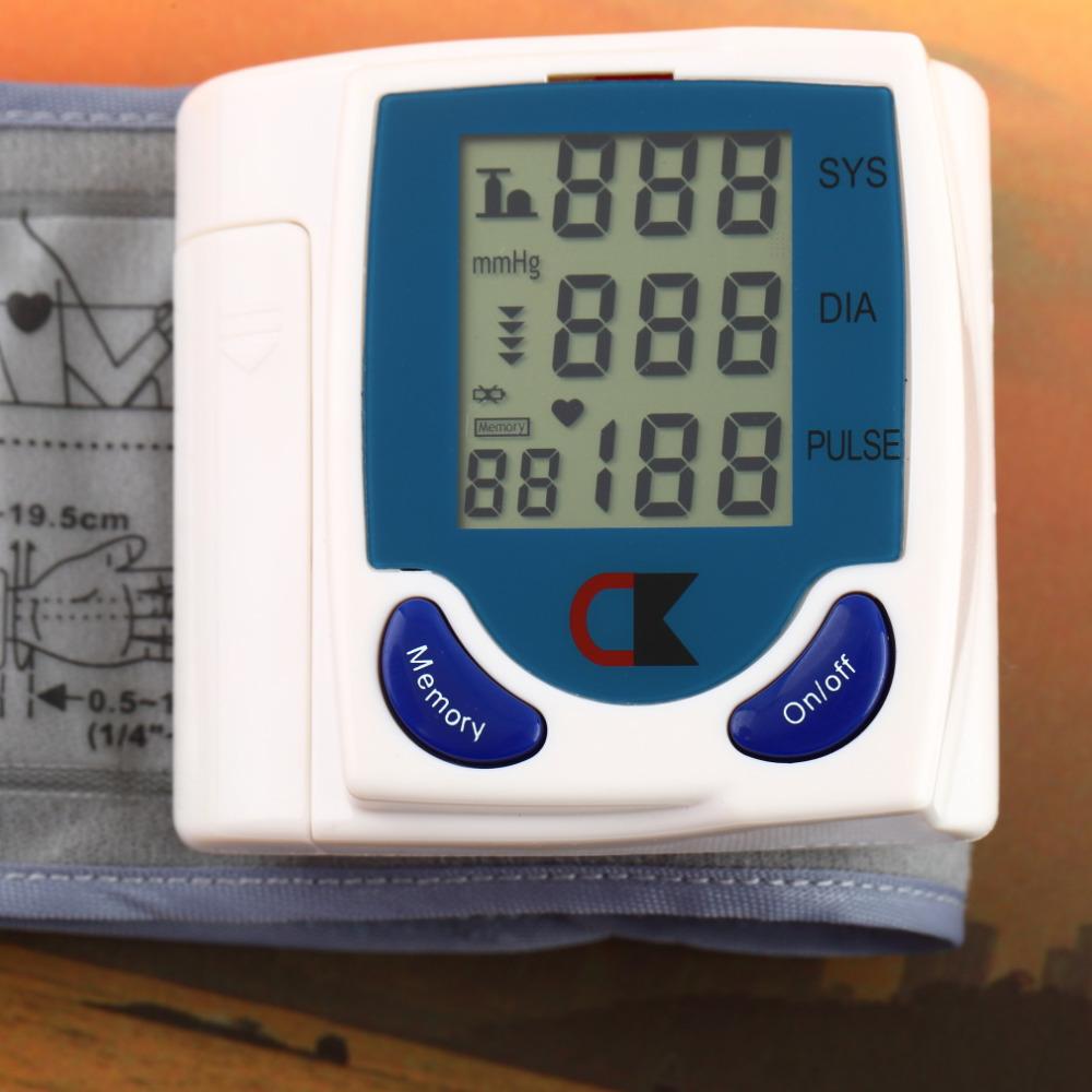 Hot!!! Digital Wrist/arm/cuff Blood Pressure Monitor Heart Beat Meter Sphygmomanometer 2015 Hot<br><br>Aliexpress