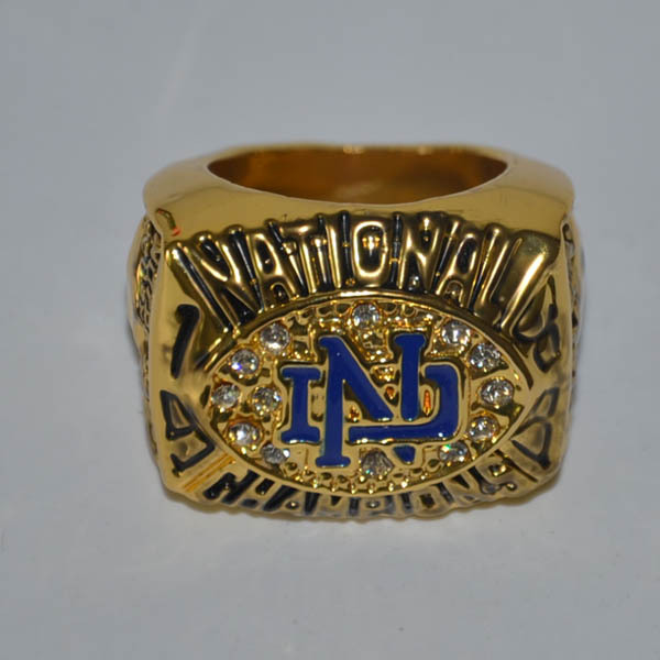 Free Shipping! Replica Designer Fashion 1988 Notre Dame Championship Ring, best gift for fans, accept custom design size 11(China (Mainland))