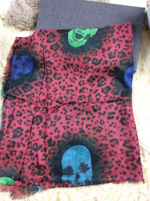 Free shipping hot-selling colorized MQ Skull pattern long paragraph 100% cashmere scarf women winter large high qualityОдежда и ак�е��уары<br><br><br>Aliexpress