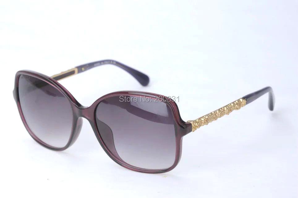 Фотография DHL Free New Sunglasses 2016 New Brand 5355 Oval Lens Mix Alloy Frame Oculos De Sol With Original Logo Box 5355