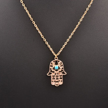 New fashion jewelry hand design pendant necklace gift for women girl N1737