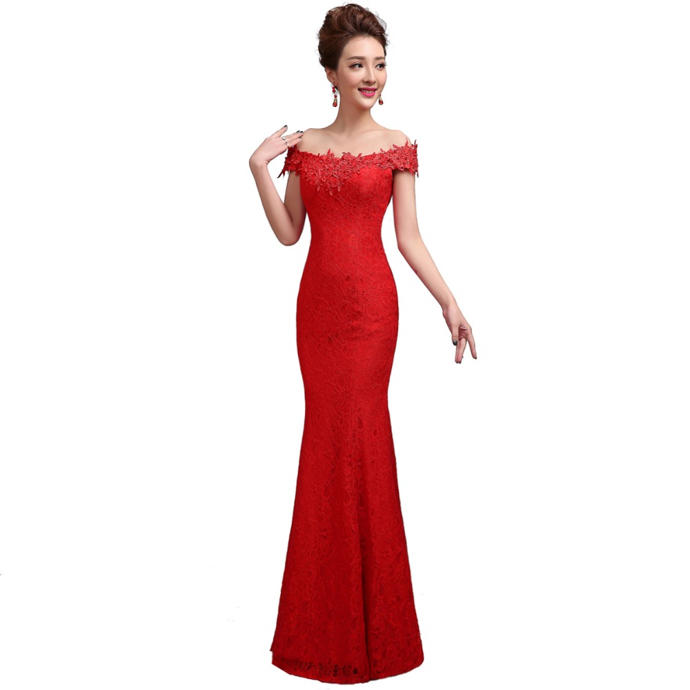 Red Mermaid Evening Gowns - Fashion Ideas