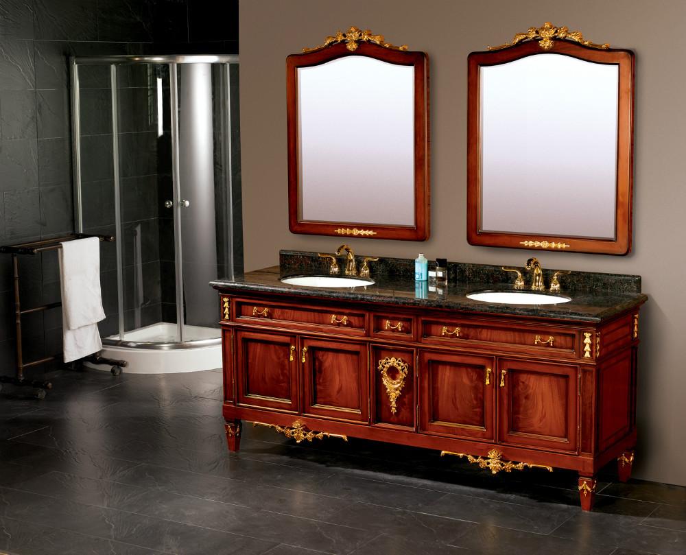 achetez en gros armoire de toilette en bois massif en ligne des grossistes armoire de toilette. Black Bedroom Furniture Sets. Home Design Ideas