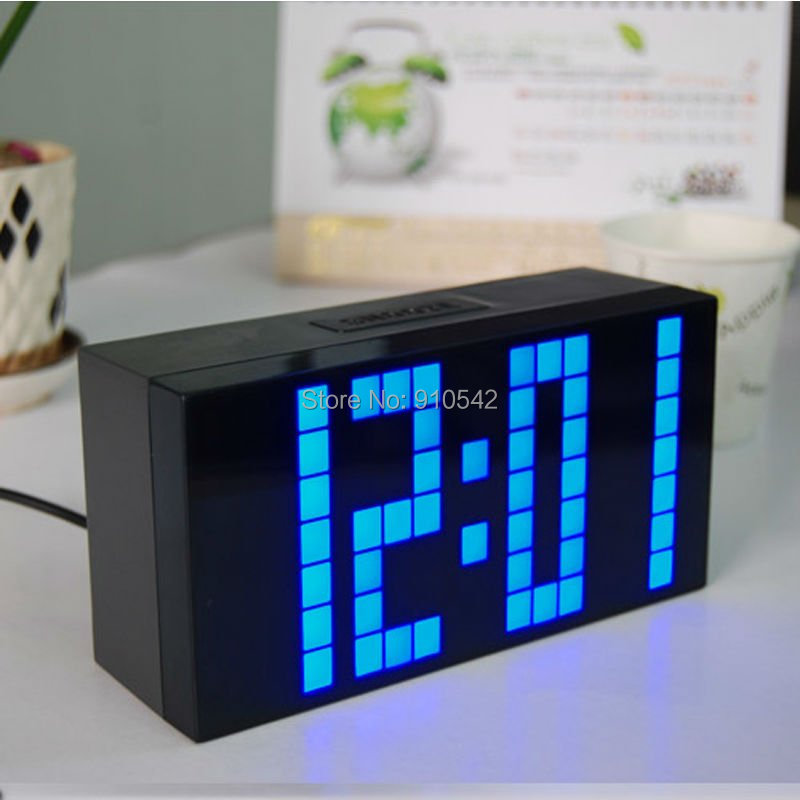 Stylish bedside alarm clock
