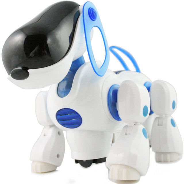 Transpace electric toy robot electronic dog electronic pet toy