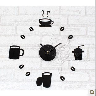 DIY wall clock modern design,cheap home decoration.wall decoration living room.the novelty households,unique gift F13 - Time Art Gallery----Bring walls to your life ! store