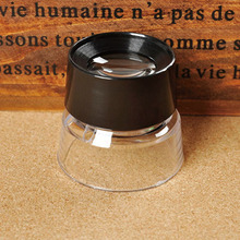 High Quality 10X Magnifying Glass Magnifiers Microscope for Jeweler Loupe Stamp Antique NG4S
