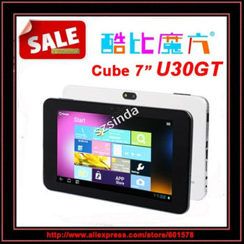 Original Cube Mini U30GT Dual Core Win8 UI 7inch Capacitive Screen Android4.0 16G 1.6Ghz Tablet PC