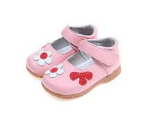 ילדי עור אמיתיים נעלי 2020 חדש פרח בנות נסיכת נעלי אביב אופנה סניקרס לילדים רך בלעדי נעלי עור(China)