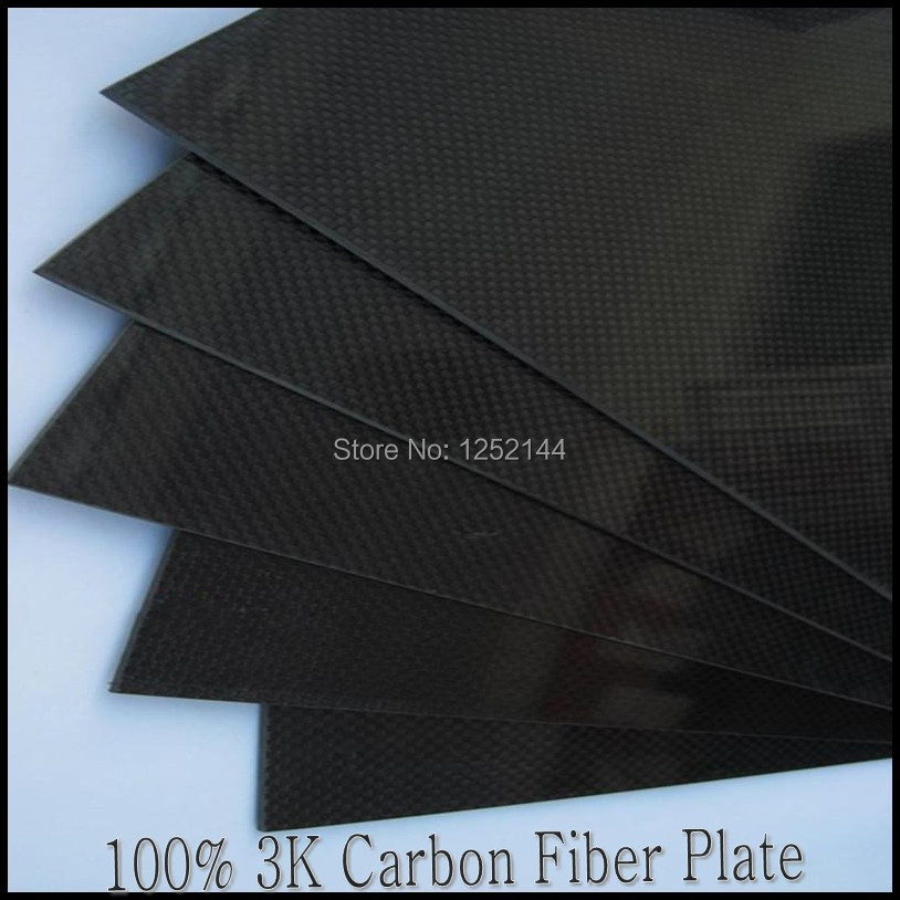 100% 3k 2mmx200mmx300mm Carbon Fiber Plate/sheet /board/ different weave for car airplane quadcopter multicopter free shipping(China (Mainland))