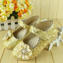 2015 autumn new Arrival princess baby shoes fashion children  Kids Girl Soft Sole Flower princess Baby Shoes for babis(China (Mainland))