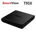 Genuine T95X Amlogic S905X Quad Core Android 6 0 TV Box 2 4G WIFI 100M