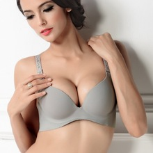 2015 new fashions Deep V neck sexy young girl bras women one piece underwear a chip
