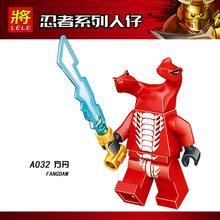 Kits Legoings Ninjagoes Acidicus Skales Pythor Zane Cole Jay Kai Lloyd Garmadon Mestre Wu Modelo Kits de Construção de Brinquedos Para Crianças(China)