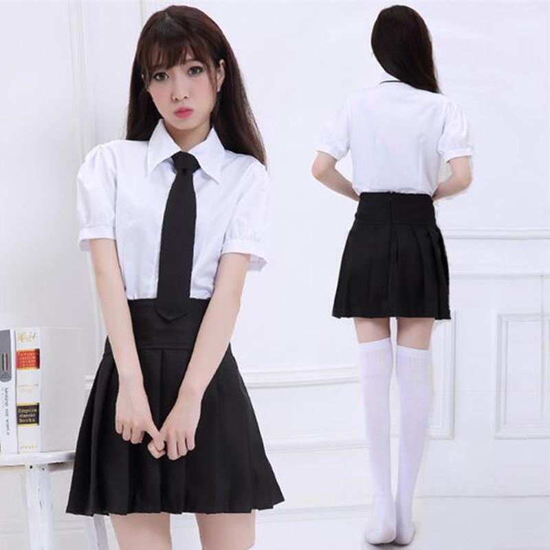 белые чулки и короткая юбка шкооьная форма
