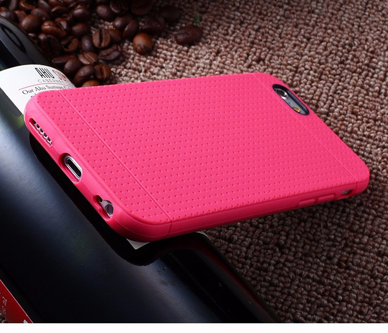 Soft Case For iPhone 5 5S SE / 6 6S Cases Silicone TPU Slim Protect Skin Points Capinha Coque For iPhone 5 5S SE / 6 6S Cover