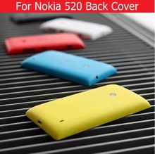 Buy 100% new back cover nokia 520 back battery housing door Microsoft Lumia nokia 520 rear cover 5 colors +1X film free for $1.89 in AliExpress store