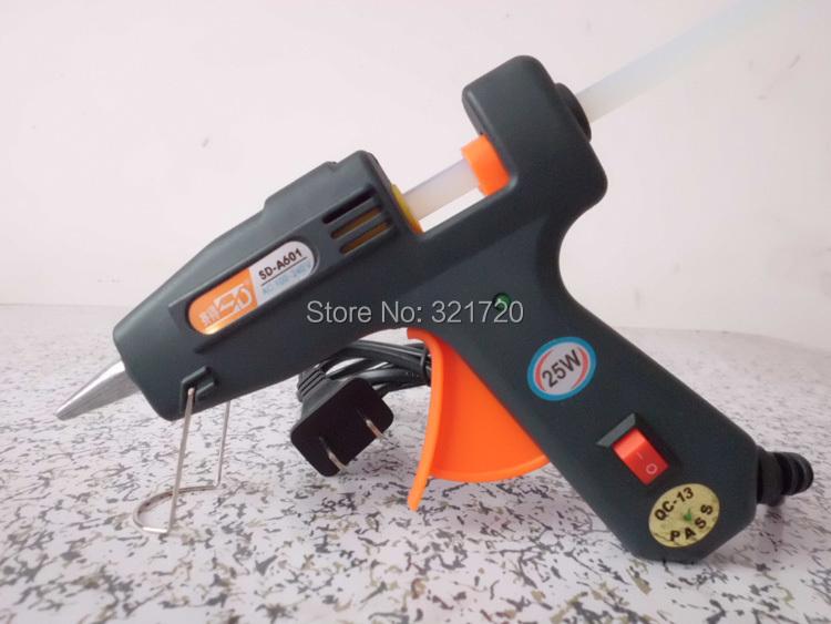 Art Craft Repair Tool 25W 100-240V High Temperature Hot Melt Glue Gun DIY Toys Production Tools High Quality Heating Tools(China (Mainland))