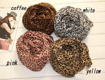 Hot Fashion Animal Leopard Print Scarf Ladies Cotton Scarf Desigual Big Size Women Shawls and Scarves Pashmina Cashmere WJ001
