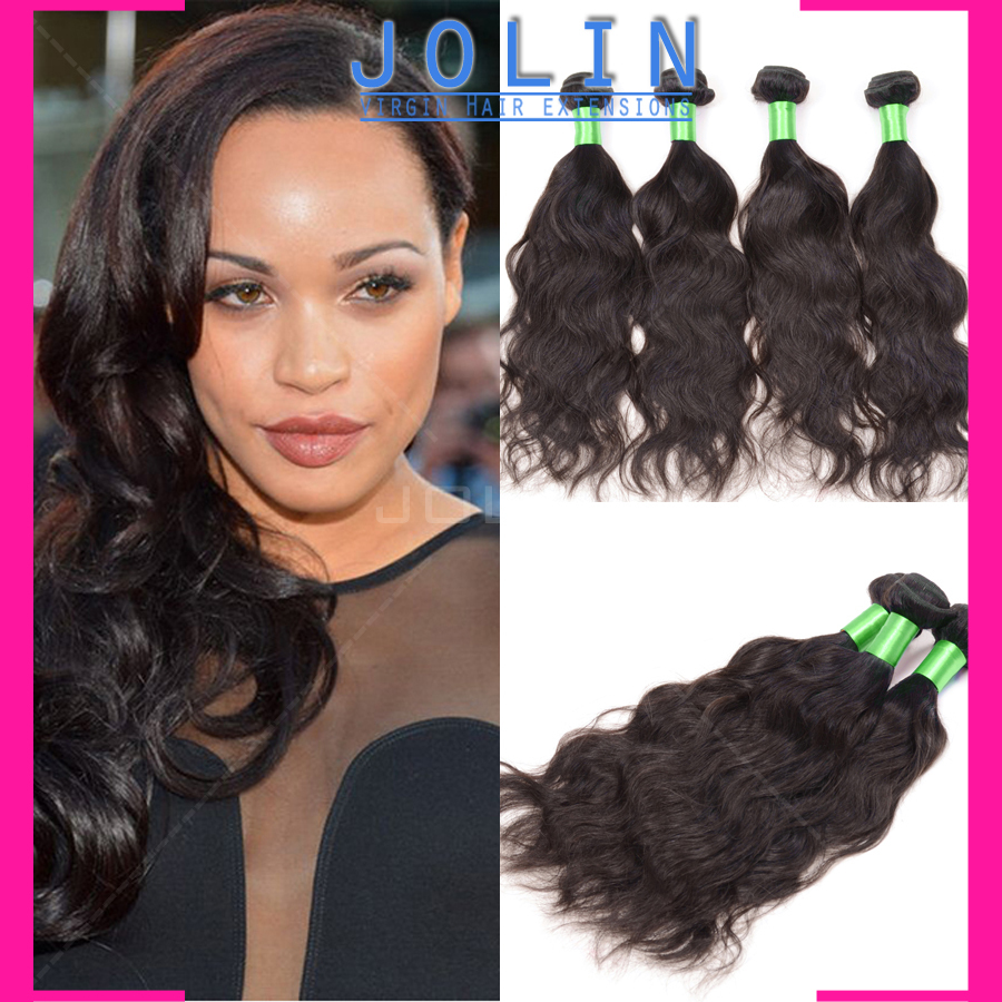 brazilian virgin hair water wave 4pc/lot morden show hair products brazilian water wave Free shipping water wave human hair rosa<br><br>Aliexpress
