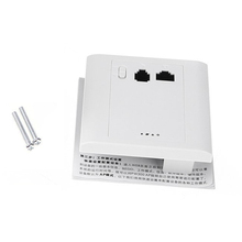 YOC-300Mbps 2.4GHz In wall Wireless AP Router for Hotel Room Support 48V PoE VLAN(China (Mainland))